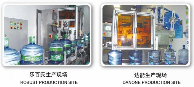 PET زجاجة الفولاذ المقاوم للصدأ يتقلص كم آلة وسم للزجاجات المختلفة CE