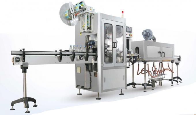 آلة لصق كم يتقلص كمياه الينابيع الطبيعية / آلة تطبيق الأكمام المتقلصة