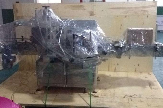 آلة وضع العلامات من سبائك الألومنيوم مقابل قارورة للزجاجة المستديرة ، آلة وضع العلامات الصناعية
