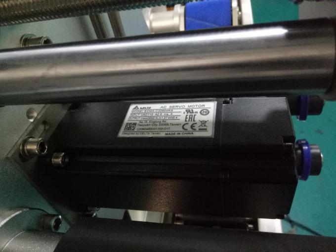 SUS304 خزانة جانبين آلة وسم زجاجة لاصقة مربعة مع منتجات العناية الشخصية
