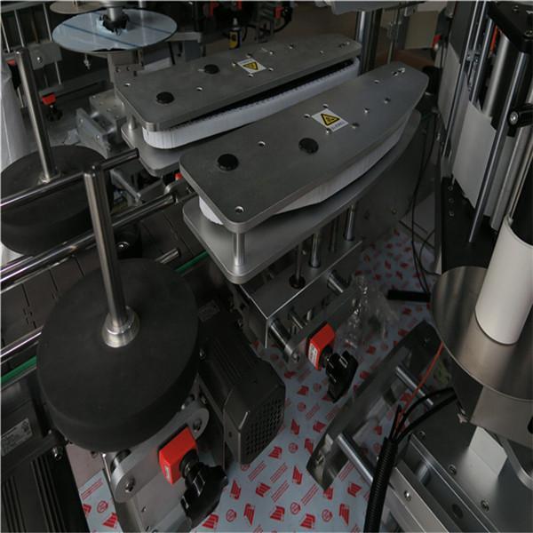 آلة وسم زجاجة مربعة متعددة الوظائف ، آلة وسم الجرة