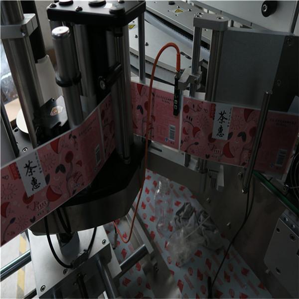 آلة وضع العلامات الأوتوماتيكية للزجاجات المربعة والمستديرة 50HZ 2300W نظام الطاقة