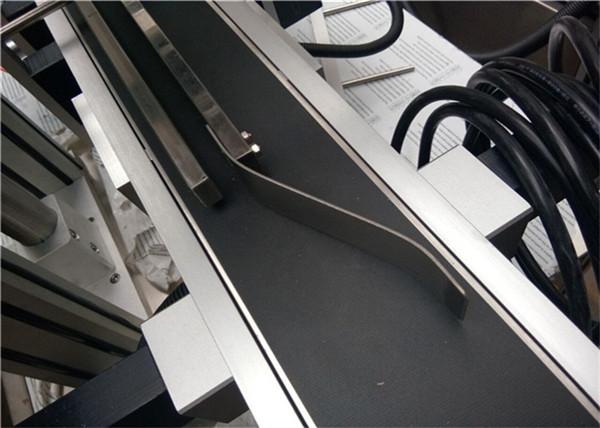 آلة لصق العلوية الأوتوماتيكية الكاملة لملصقات الأكياس البلاستيكية الفارغة