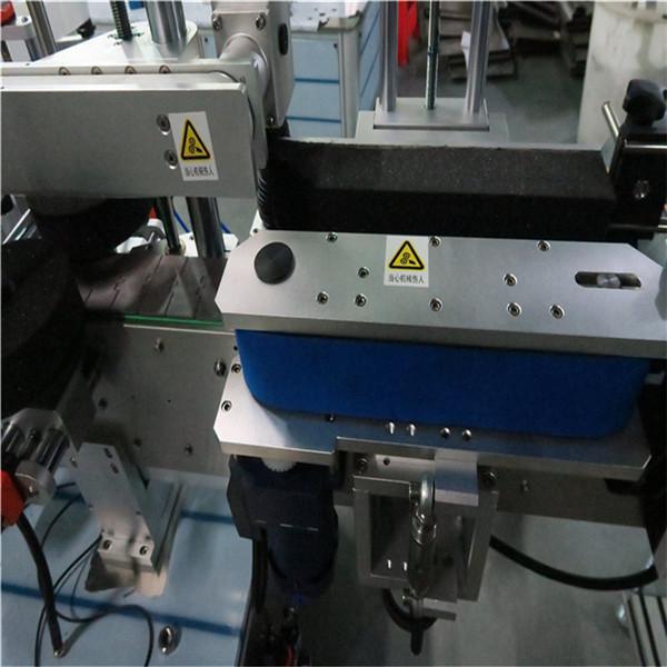 آلة لصق الزجاجات الأمامية والخلفية اليومية ، آلة وضع العلامات على الجرة
