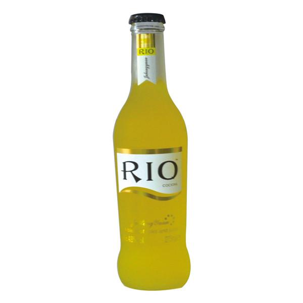 آلة وضع العلامات الأوتوماتيكية الكاملة على زجاجة كوكتيل ريو