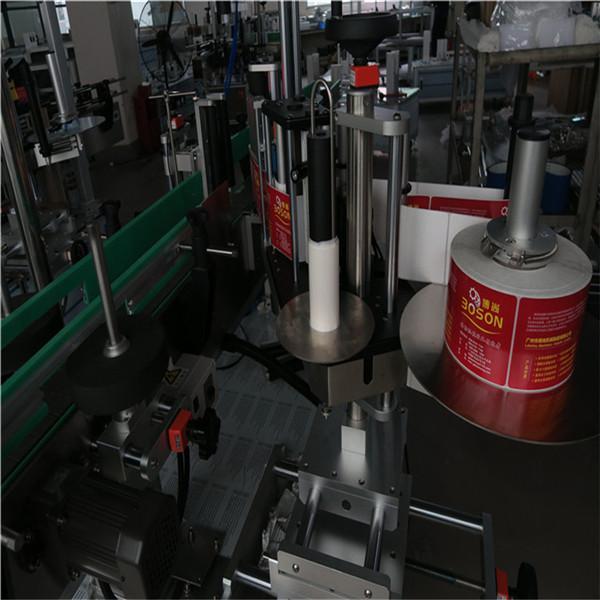 آلة وسم الملصقات الأوتوماتيكية CE / آلة وضع العلامات الحساسة للضغط للزجاجات