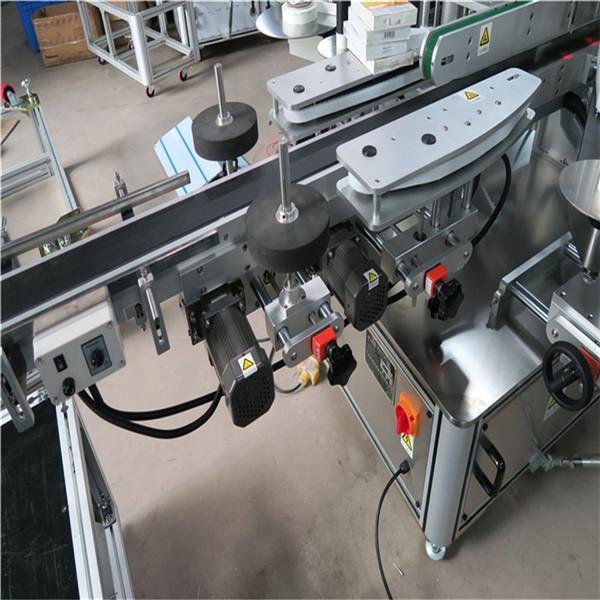 آلة لصق ملصقات زجاجة النبيذ معدات قضيب التسمية
