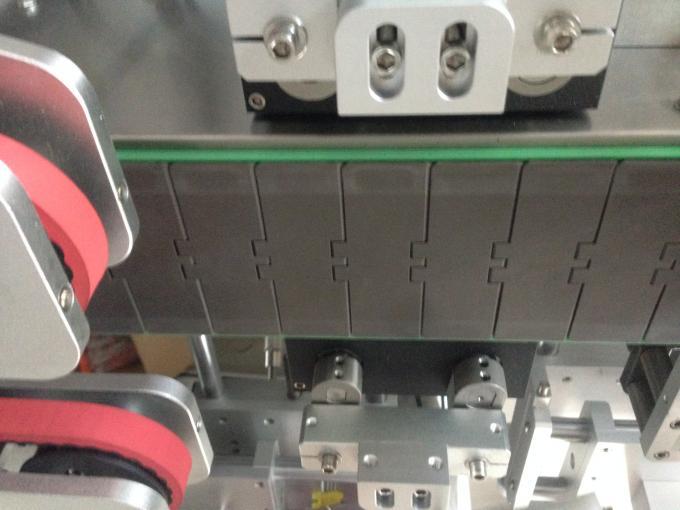 آلة لصق الملصقات ، آلة لصق الزجاجات الدائرية أحادية / مزدوجة الجانب