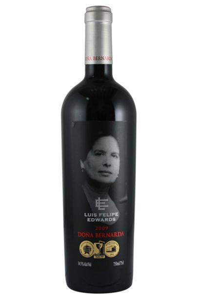 لويس فيليبي إدواردز آلة لصق الملصقات على زجاجات النبيذ على الوجهين