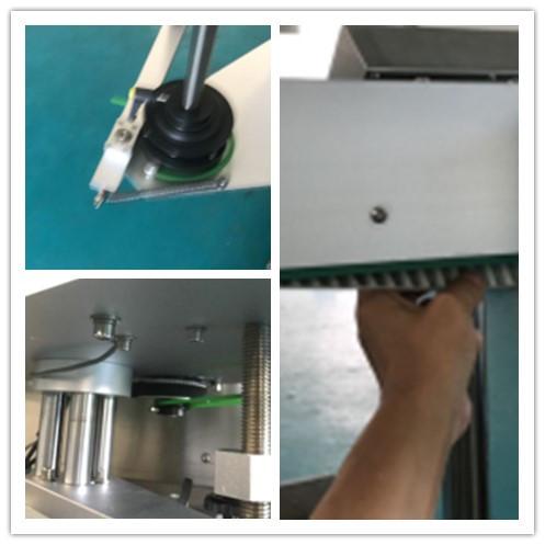 آلة وضع العلامات على زجاجة بيرة مزدوجة الجانب ، آلة لصق الملصقات الأوتوماتيكية
