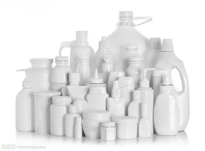 آلة وسم الزجاجات البلاستيكية للمنتجات الكيميائية ، نظام التحكم PLC وشاشة اللمس