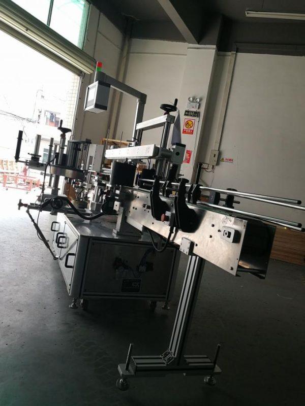 آلة وسم الملصقات الأوتوماتيكية ، آلة وضع تسمية الزجاجات البيضاوية للزجاجات