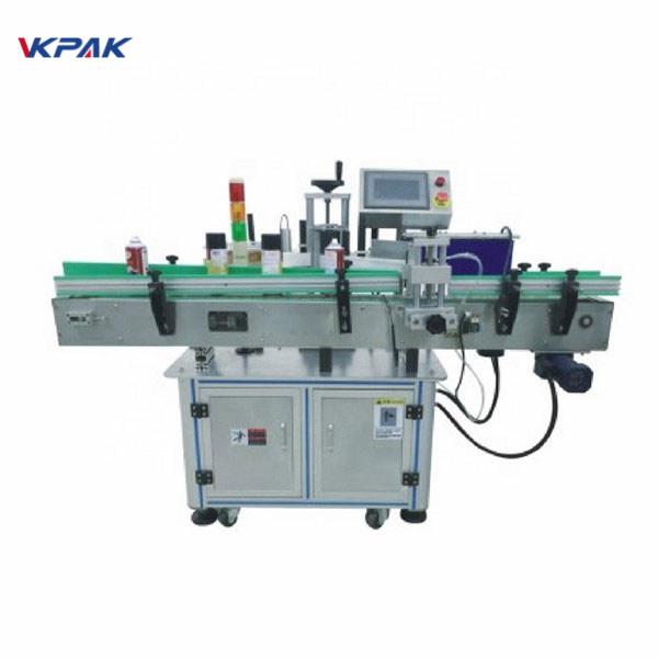 آلة وضع الملصقات الأوتوماتيكية مع ملصق لاصق ذاتي القرص الدوار