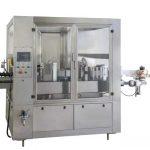 آلة وسم زجاجة النبيذ / البيرة عالية الإنتاج ، آلة لصق الزجاجات المستديرة
