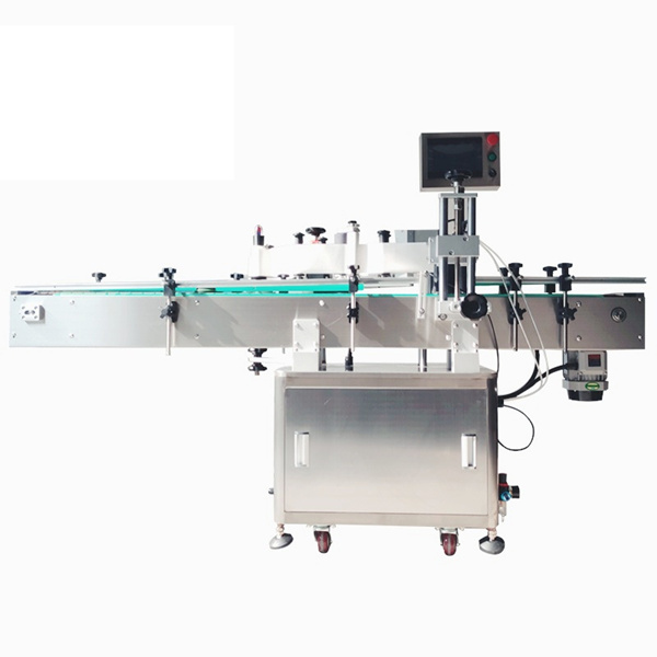 آلة لصق الملصقات الأوتوماتيكية ذاتية اللصق لمستحضرات التجميل لزجاجات الحيوانات الأليفة