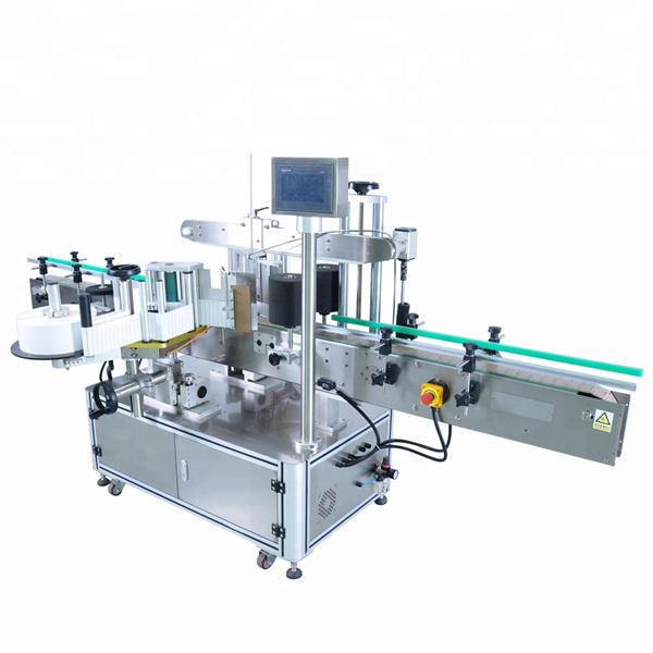 آلة تخصيص التسمية التلقائية المخصصة لزجاجة المنظفات المستديرة