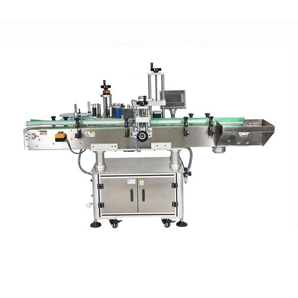 آلة لصق الملصقات الأوتوماتيكية ذات التحكم المزدوج PLC الذكي