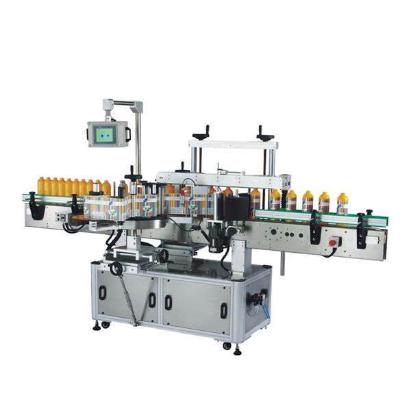 آلة وضع العلامات على الزجاجات البلاستيكية Odm مع Plc وشاشة تعمل باللمس