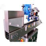 آلة لصق الملصقات من الفولاذ المقاوم للصدأ للأمبولات / زجاجة السائل عن طريق الفم