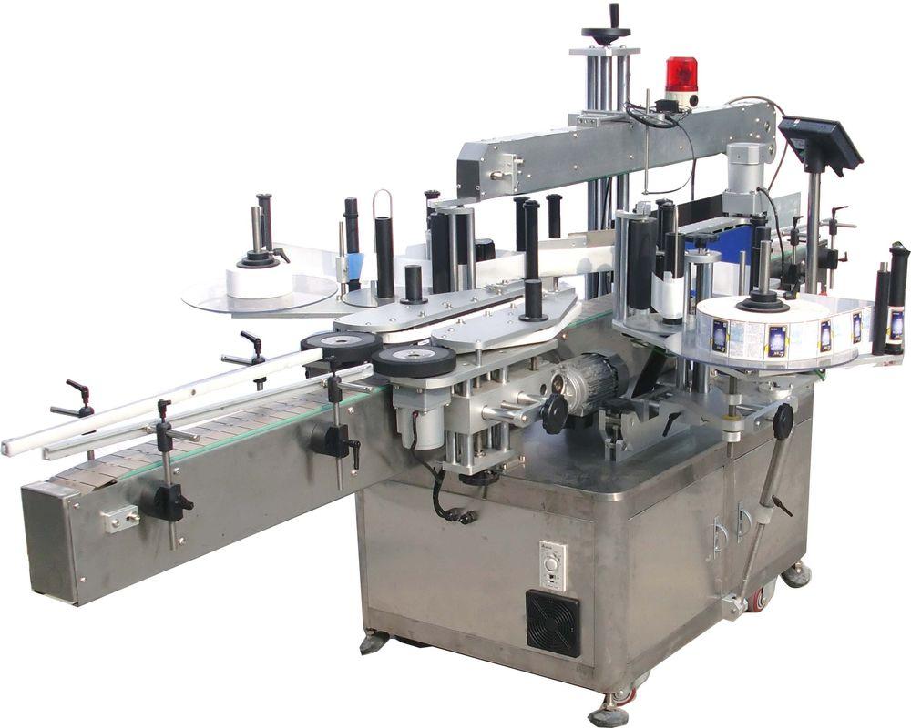 آلة لصق ملصقات الزيت الهيدروليكي عالية السرعة مزدوجة الجانب