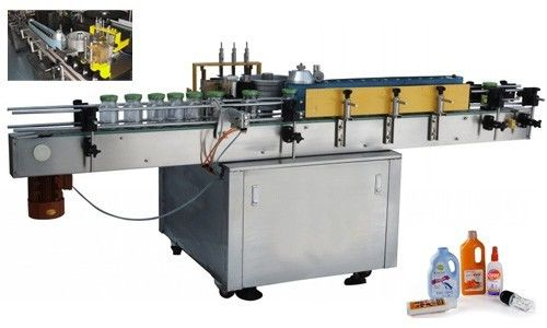الصين التلقائي آلة لصق التسمية الغراء البارد للحصول على زجاجة مستديرة مخصصة المورد