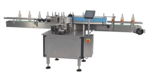 Hot Melt Bopp / Wet Glue Automatic Label Applicator للزجاجات