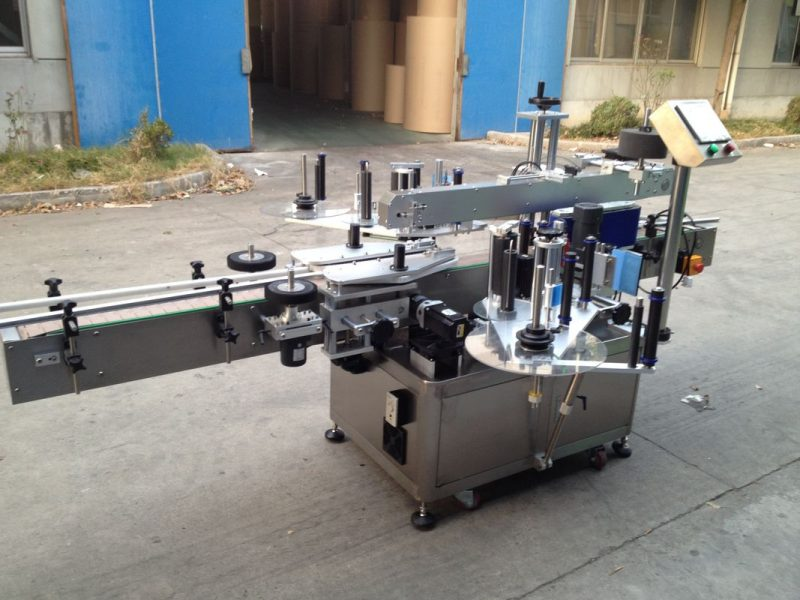 آلة لصق الملصقات الأوتوماتيكية المضغوطة في الصين ، مورد آلة وضع العلامات الأوتوماتيكية 550 كجم