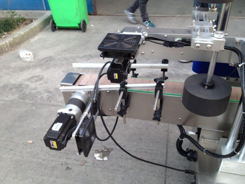 الصين الباردة / الرطب تذوب الغراء آلة قضيب التسمية للزجاجة المستديرة 50HZ 380V مورد امدادات الطاقة
