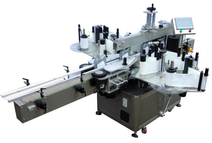 الصين SUS304 الفولاذ المقاوم للصدأ الاقتصاد مزدوج الجانب آلة وسم الملصقات لمورد زجاجة الوسم