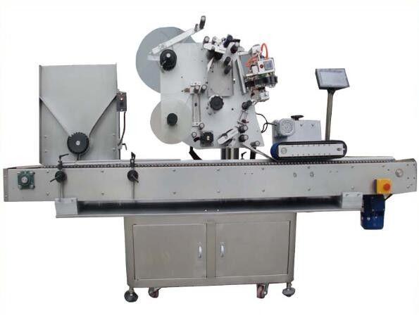 الصين جولة آلة وسم OPP مع آلة الترميز ، آلة ملصق تسمية طلاء الأظافر لمورد مستحضرات التجميل