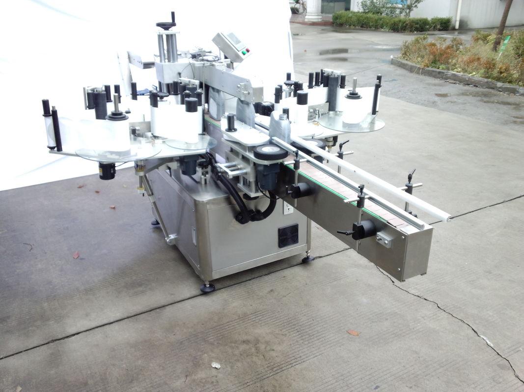 آلة لصق الملصقات الأوتوماتيكية ذات الجانبين مع الجانب الأمامي والخلفي