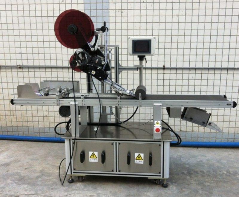 أعلى آلة وضع العلامات في الصين للقناع / الكرتون غير المقشور / أكياس الورق ، مورد قضيب تسمية السطح المسطح