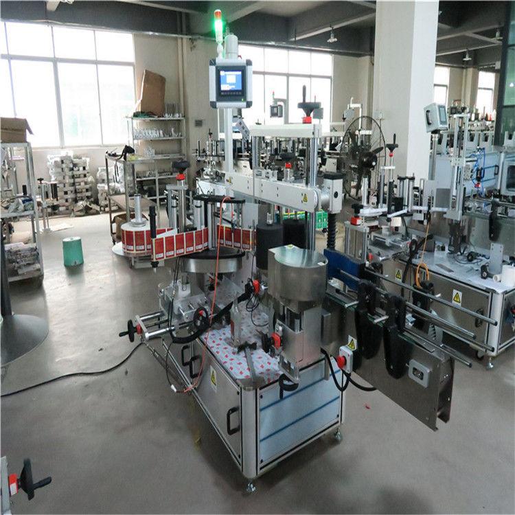 الصين زجاجة مسطحة عالية السرعة آلة وسم جانبين لمستحضرات التجميل / المشروبات المورد