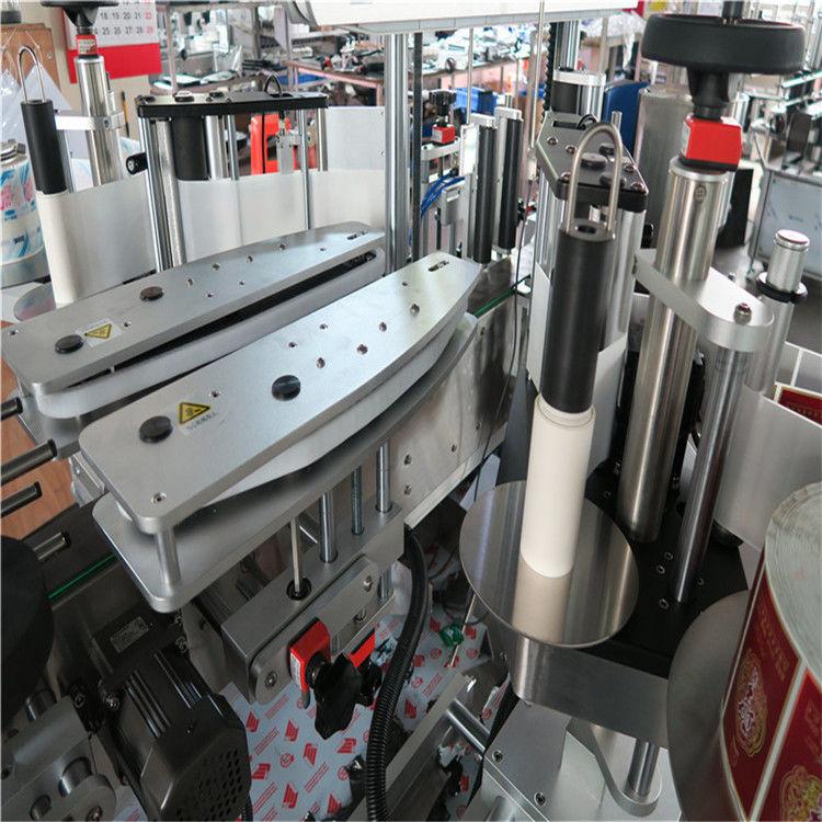 آلة لصق الملصقات ذاتية اللصق الأوتوماتيكية بالكامل في الصين مورد مزدوج الجوانب