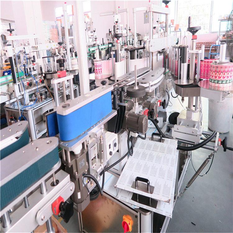 الصين زجاجة مزدوجة الجانب آلة وسم لمختلف الموردين جرة زجاجة مربعة مسطحة