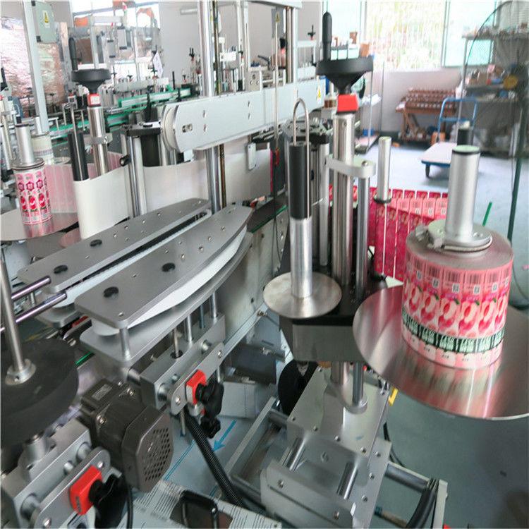 آلة لصق الملصقات الأوتوماتيكية الأمامية الخلفية ذاتية اللصق 330 مم أقصى قطر خارجي