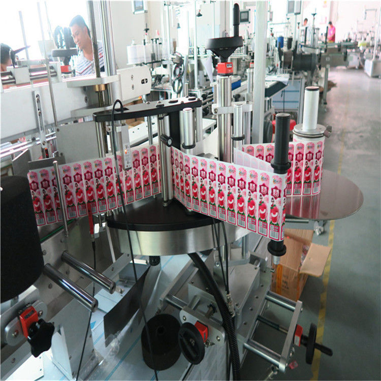 آلة وسم الملصقات الأوتوماتيكية متعددة الوظائف في الصين 0.1L - 2L حجم زجاجة المورد