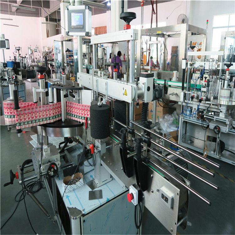 الصين 350 مل التلقائي آلة وسم زجاجة الزجاج 190 مم ارتفاع ماكس المورد