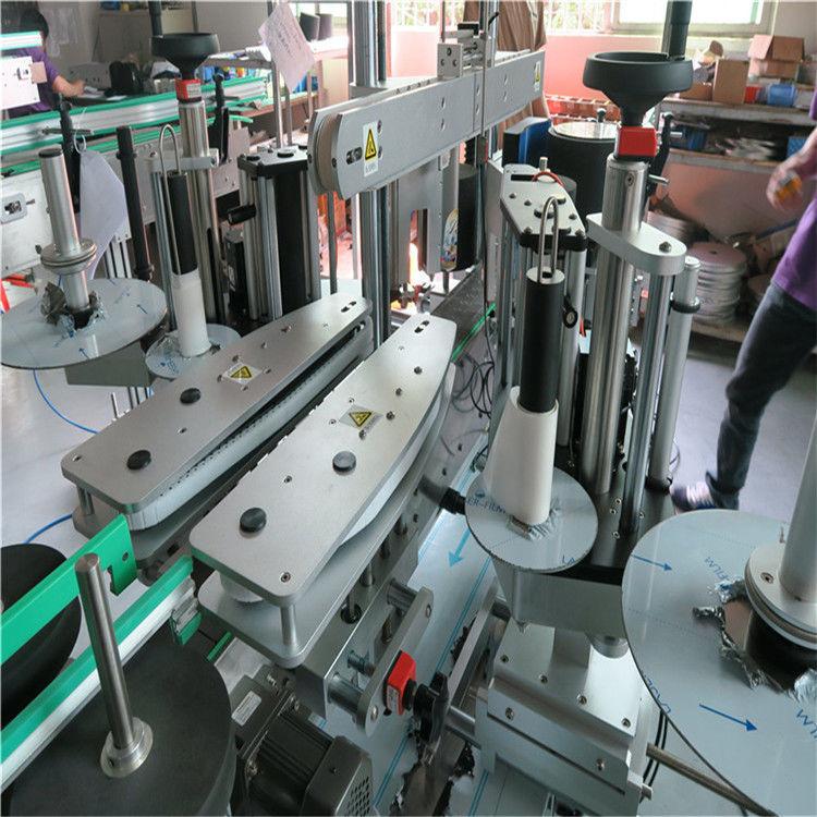 الصين آلة وسم الملصقات الأوتوماتيكية الكاملة ، مورد آلة وسم زجاجة المياه الأمامية والخلفية