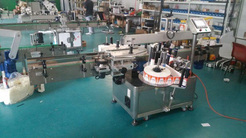 آلة وضع العلامات على الزجاجات الأوتوماتيكية ذات جانب مزدوج من الصين للحقائب الدائمة المورد