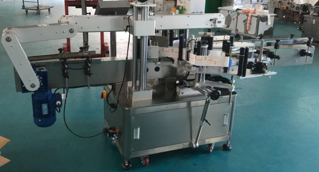آلة وضع العلامات على الزجاجات المسطحة الأوتوماتيكية ، آلة تسمية الملصقات