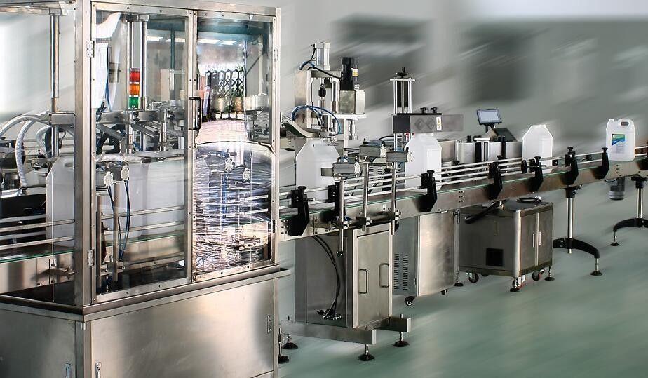 أداة لصق ملصقات مزدوجة الجانب عالية السرعة للزجاجات المستديرة / المربعة / المسطحة