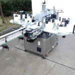آلة لصق الملصقات ثلاثية أو مزدوجة الجانب مع آلة الترميز