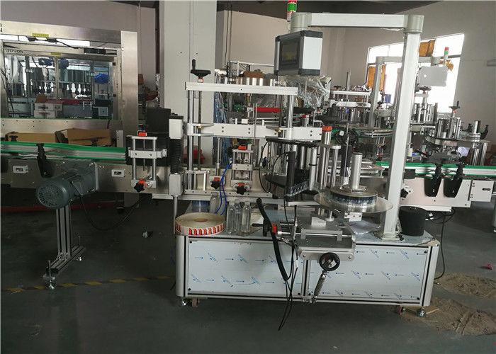 الصين آلة وضع العلامات على الزجاجة البيضاوية من جانب واحد ، مورد آلة لصق الملصقات ذاتية اللصق
