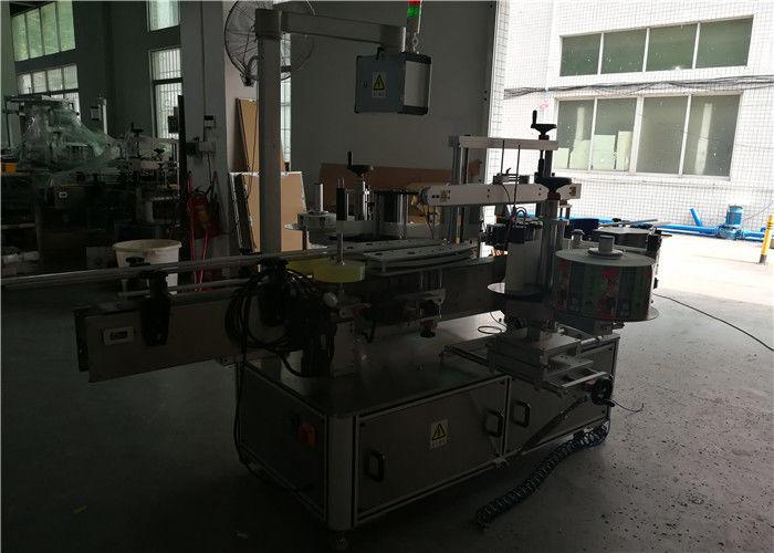 آلة لصق الزجاجات البلاستيكية المستديرة / المربعة / المسطحة ذات الوجهين في الصين ، مورد آلة وضع الملصقات على الزجاجات الأوتوماتيكية