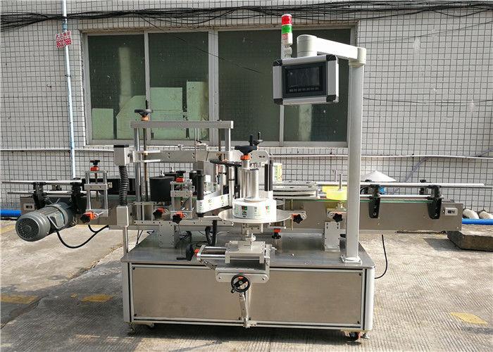الصين آلة وسم الملصقات الأوتوماتيكية CE / آلة وضع العلامات الحساسة للضغط لمورد الزجاجات