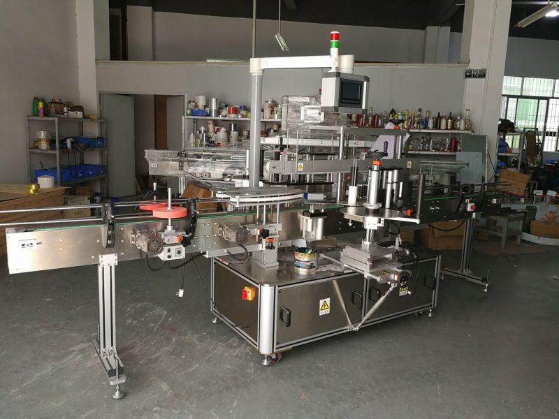 الصين عالية الدقة متعددة الوظائف آلة وسم زجاجة مسطحة الكهربائية مدفوعة المورد