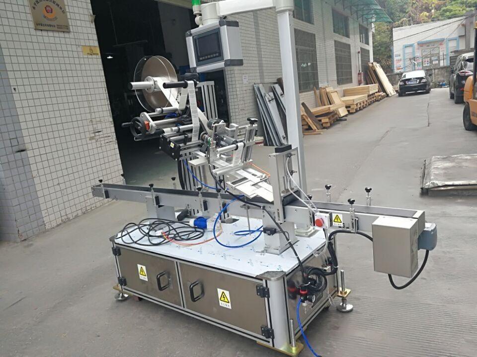 آلة لصق أعلى الملصق لنوع فوهة الحقيبة الكهربائية مدفوعة