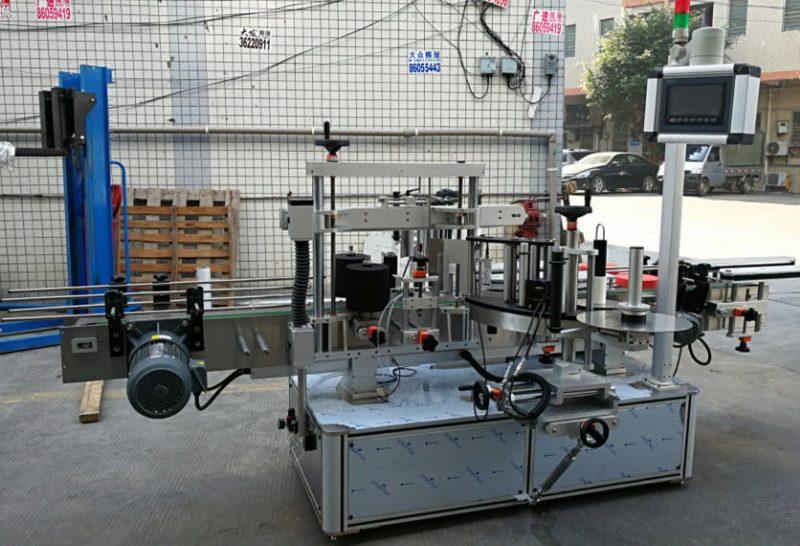 الصين آلة وسم الملصقات الأوتوماتيكية الكاملة ، آلة وضع الملصقات ذاتية اللصق لمورد الزجاجات