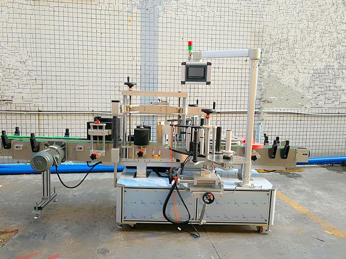 آلة لصق ملصقات ذاتية اللصق حساسة للضغط الأمامي والخلفي مع محرك مستورد